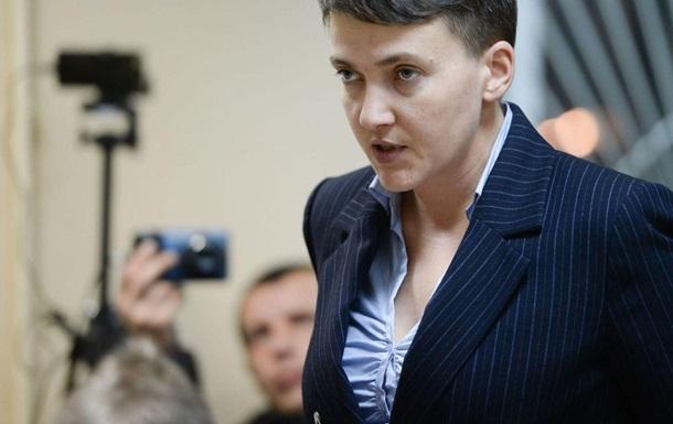 Савченко просит президента ветировать отмену ее закона