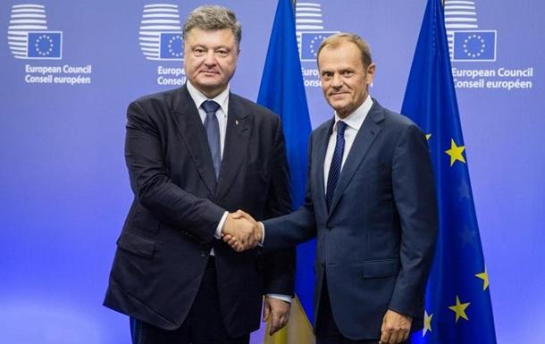 Порошенко и Туск договорились о саммите Украина-ЕС