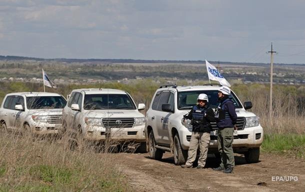 ОБСЕ заявило о снижении числа взрывов на Донбассе