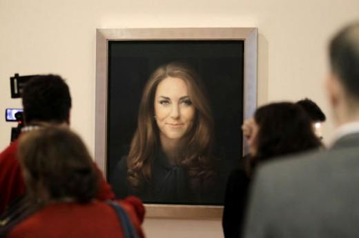 В Британии показали первый официальный портрет Кейт Миддлтон