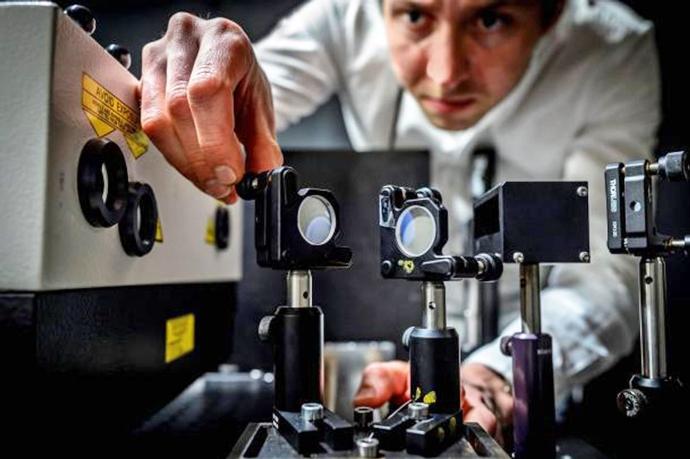 Самая быстрая камера в мире способна снимать быстротекущие молекулярные процессы