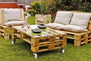 Садовая мебель: сделайте свое лето уютным