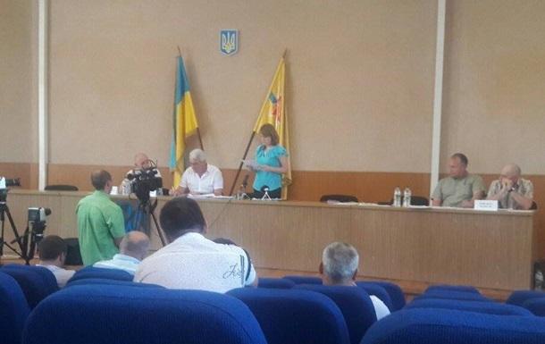 Мэру Энергодара вручили подозрение прямо во время сессии горсовета