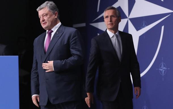 Порошенко: Сначала реформы, а затем заявка в НАТО