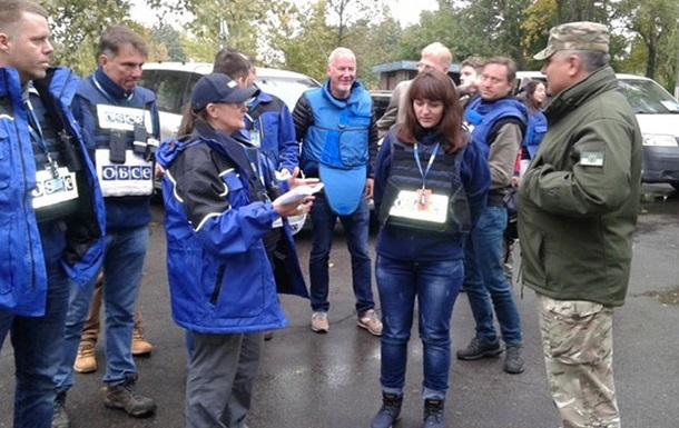 ОБСЕ: Миссию не пустили в Светлодарск из-за мин