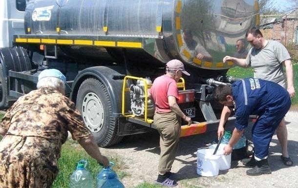 На Луганщине десятки тысяч людей без воды