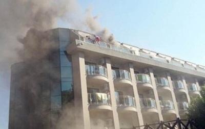 МИД: Украинцы не пострадали во время пожара в турецком отеле