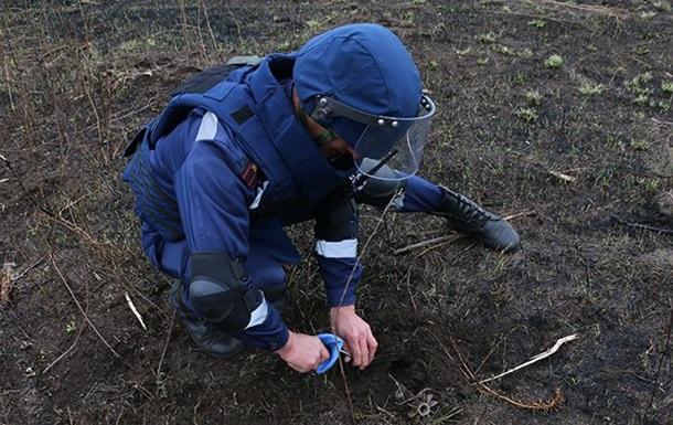 В июле в зоне АТО уничтожили 600 взрывчаток