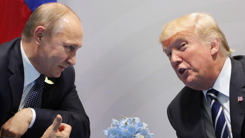 Стало известно, какие темы обсуждали Путин и Трамп
