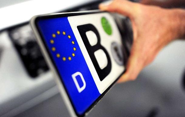 МВД: Авто на иностранных номерах замешаны в преступлениях