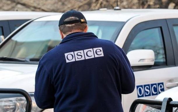 Миссия ОБСЕ попала под обстрел в Донецке