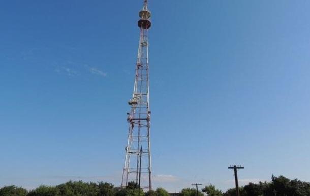 На Луганщине построили 134-метровую телевышку