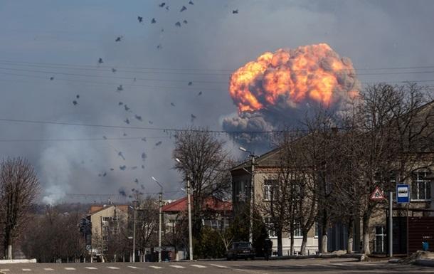 В Балаклее новый взрыв на складе боеприпасов: ранен военный
