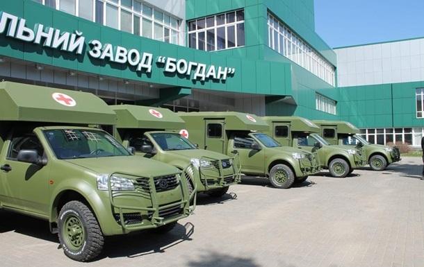 Для армии закупят 130 авто у завода Порошенко