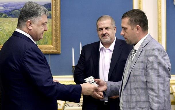 Порошенко назначил своего постпреда в Крыму
