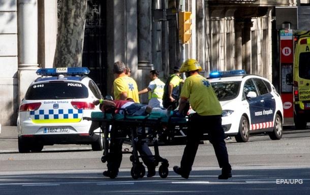 Порошенко осудил теракт в Барселоне