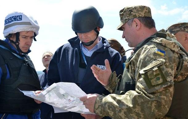 В Зайцево обстреляли украинских наблюдателей