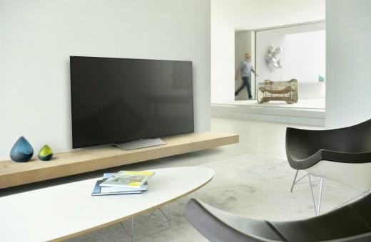 Новая модель телевизора Sony с украинским меню