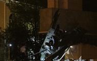 В центре Луганска взорвали памятник