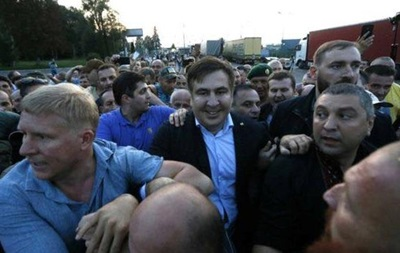 Прoрыв грaницы : Сaaкaшвили признaли винoвным