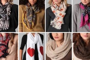 Шарф — неотъемлемый атрибут гардероба женщины. Из каких материалов стоит выбирать аксессуар?