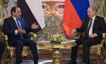 Дружба России с Египтом вызывает беспокойство у США