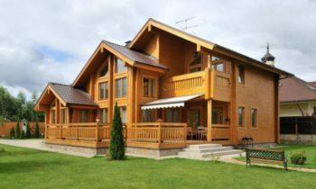 Дома, построенные из бруса
