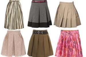 Женская одежда от А до Я: Список видов и силуэтов юбок