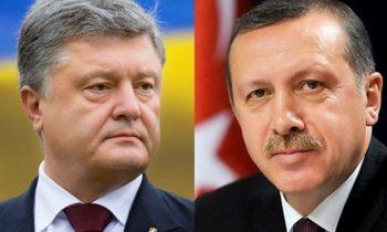 Порошенко попросил Эрдогана не признавать выборы в Крыму