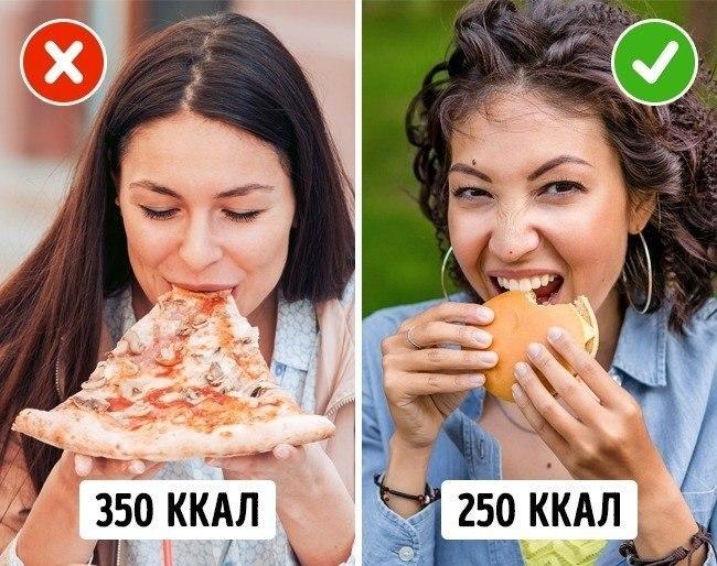 высококалорийная еда