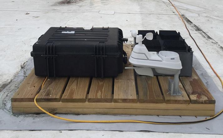 Термальный розонатор производит электричество из воздуха.