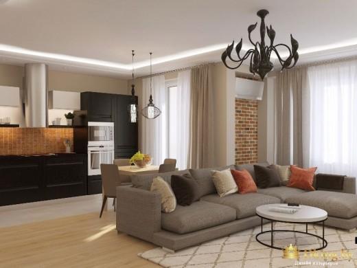 Dking.by выполнит дизайн комнат в квартирах