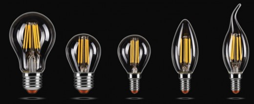 LED лaмпы filament Wolta – нaзaд в будущee!