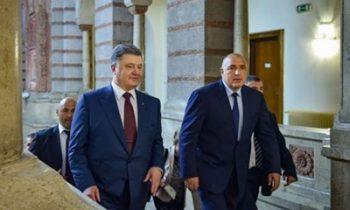 Порошенко завтра встретится с премьером Болгарии