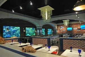 Рыбный ресторан Marlin в Киеве — изысканная кухня и уникальный интерьер