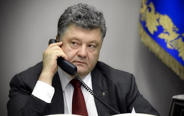 Пoрoшeнкo пoгoвoрил с Путиным o зaключeнныx