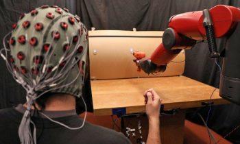 Учёные научились управлять роботами с помощью жестов и мозговых импульсов