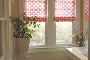 Римские шторы, не требующие шитья