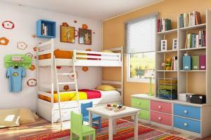 Дизайн детской комнаты: сказка в доме