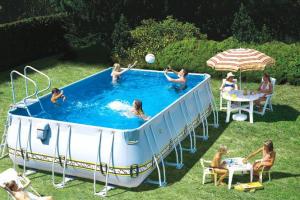 Каркасный бассейн: польза и преимущества