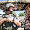 На Донбассе за день ранен один военный