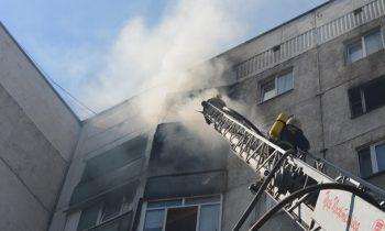 В Ужгороде произошел пожар в многоэтажке, есть погибшие