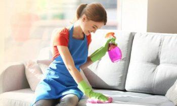 Способы чистки мягкой мебели содой и уксусом