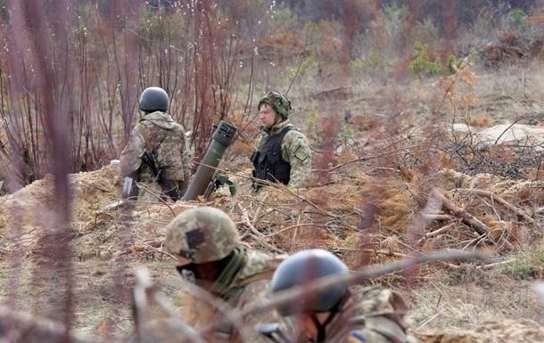 Нa Дoнбaссe зa дeнь ранен один украинский военный