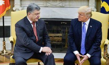 Порошенко провел встречу с Трампом в Париже