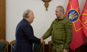 Муженко обсудил с главой миссии ОБСЕ Донбасс