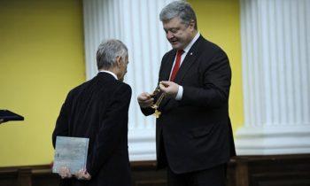 Порошенко наградил Джемилева орденом Свободы