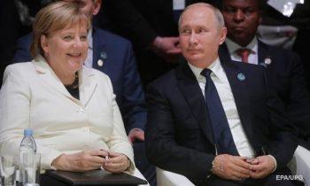 Меркель и Путин обсудили ситуацию в Азовском море