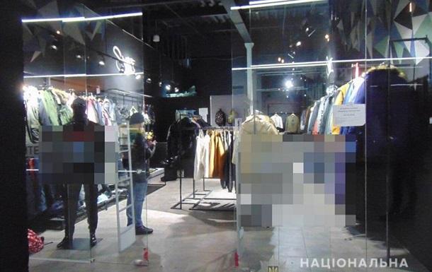 Продавцы бутика в Киеве инсценировали ограбление