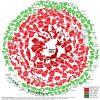 Графическая визуализация снежного кома государственных долгов